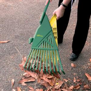 Ramasse-feuilles sans se pencher