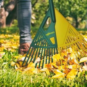 Outil ramasse feuilles pratique et efficace