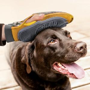 Gant de brossage pour chiens et chats de Max&Mitzy